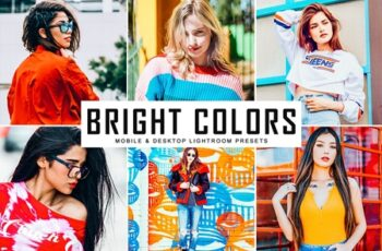 Bright Colors Mobile & Desktop Lightroom Presets 3610272 11