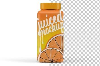 Isolated Juice Bottle Mockup 249408450 2