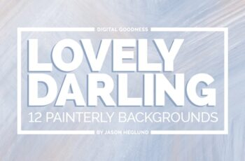 Lovely Darling 12 Painterly Backgrounds 3968290 4