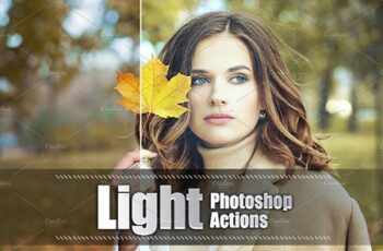 45 Light Photoshop Actions 3937829 3