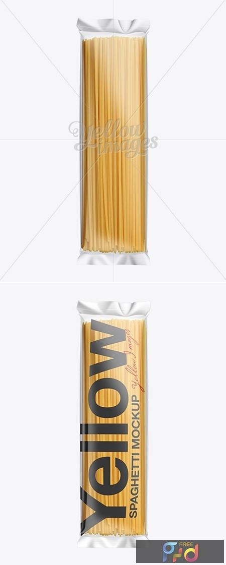 Clear Plastic Spaghetti Packaging Mockup 10819 1
