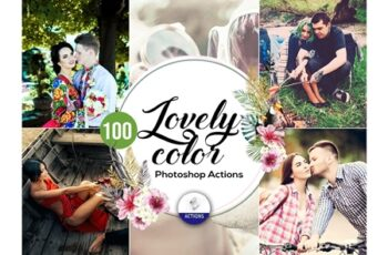 100 Lovely Color Photoshop Actions 3937852 2