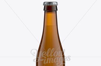 330ml Vihsy Amber Bottle For Beer Mockup 11284 5