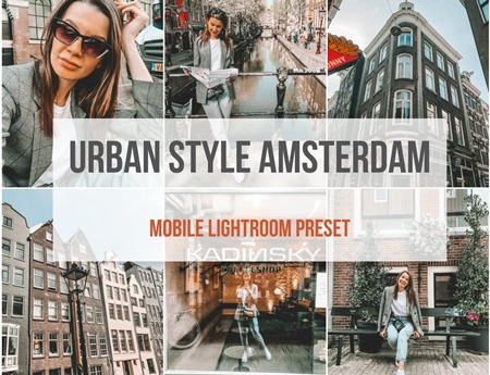 Mobile Lightroom Presets Amsterdam 3887304 - FreePSDvn