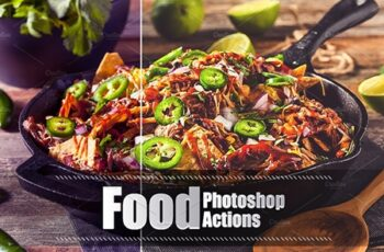 80 Food Photoshop Actions 3937507 6