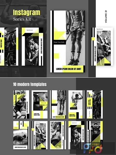 Instagram Stories Kit (Vol.31) 4B9TZFM 1