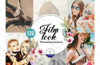 120 Film Look Photoshop Actions 3937459 7