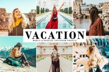 Vacation Mobile & Desktop Lightroom Presets 3983370 6