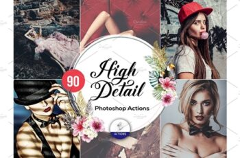 90 High Detail Photoshop Actions 3937598 7