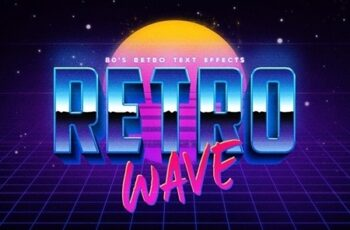 80's Retro Text Effects 24165605 6