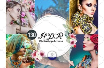 130 HDR Photoshop Actions 3937541 3
