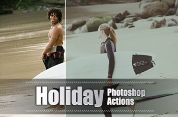 150 Holiday Photoshop Actions 3937606 5
