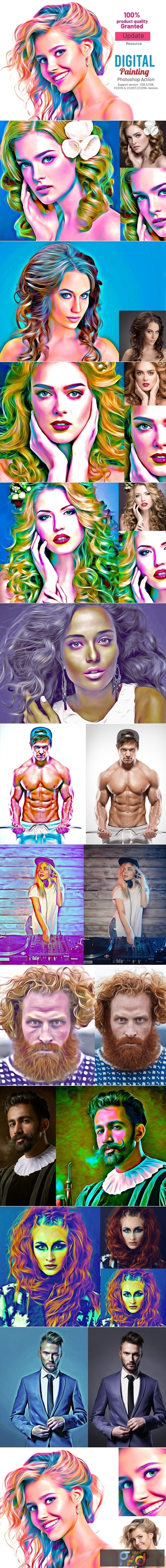 Digital Painting Photoshop Action 3969610 1