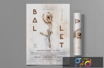 Ballet Flyer JMDH2G8 7