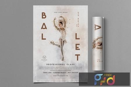 Ballet Flyer JMDH2G8 1