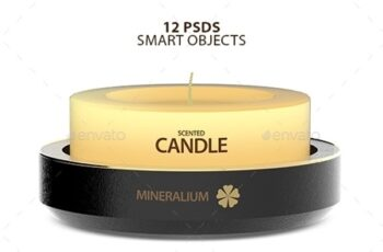Candle PSD Mock-ups T8NHE6L 4