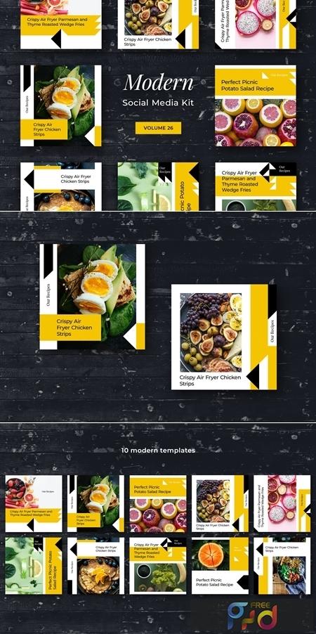 Modern Social Media Kit (Vol. 26) 3916195 1