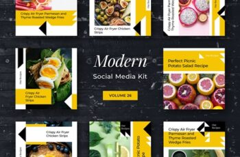 Modern Social Media Kit (Vol. 26) 3916195