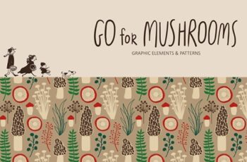 Go for Mushrooms Forest Collection 3933507 7
