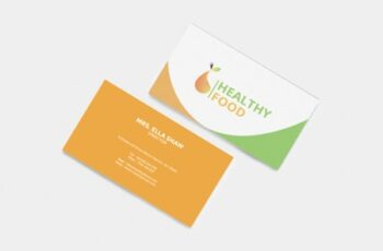 Healthy Food Business Card 1663563 5