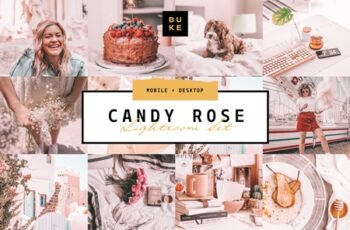 Candy Rose Lightroom Presets Bundle 3916264 4