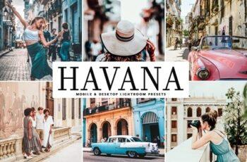 Havana Lightroom Presets Pack 3998342 3