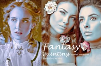 Fantasy Painting Photoshop Action 3864475 7