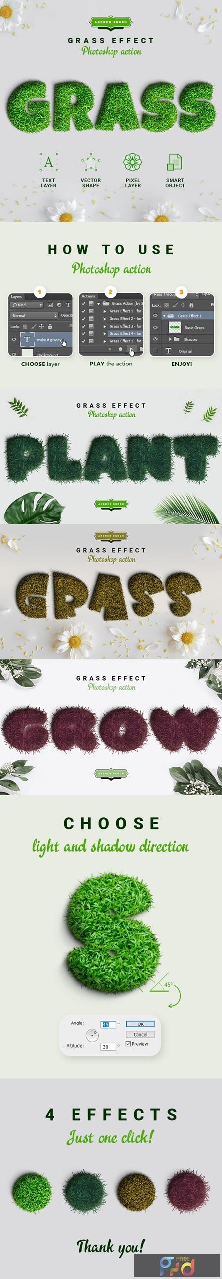 Grass Photoshop Action 24141986 1