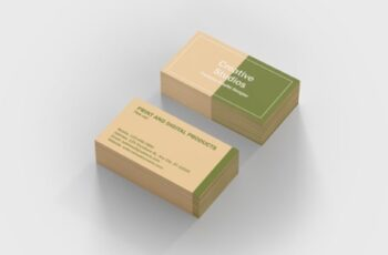 A Clean Business Card Template 1671949 4