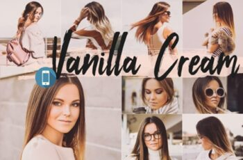 5 Vanilla Cream Mobile Lightroom Presets 1687076 4