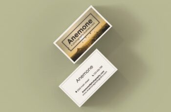 ANEMONE a Photography Business Card 1671933 9