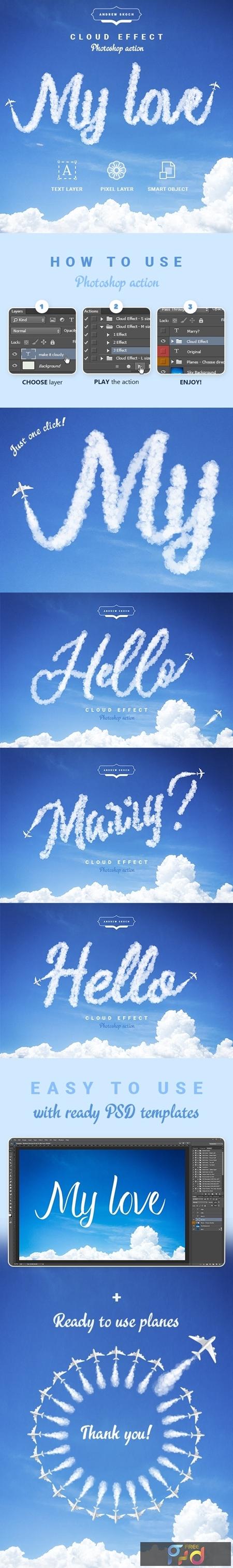 Cloud Text - Photoshop Action 24184126 1