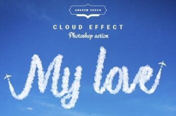 Cloud Text - Photoshop Action 24184126 4