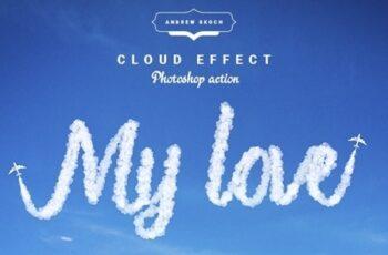 Cloud Text - Photoshop Action 24184126 7