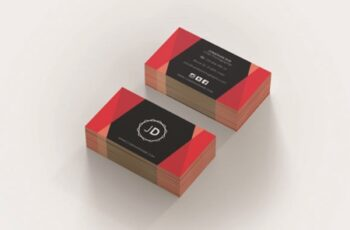 Professional Business Card Template 1671973 3