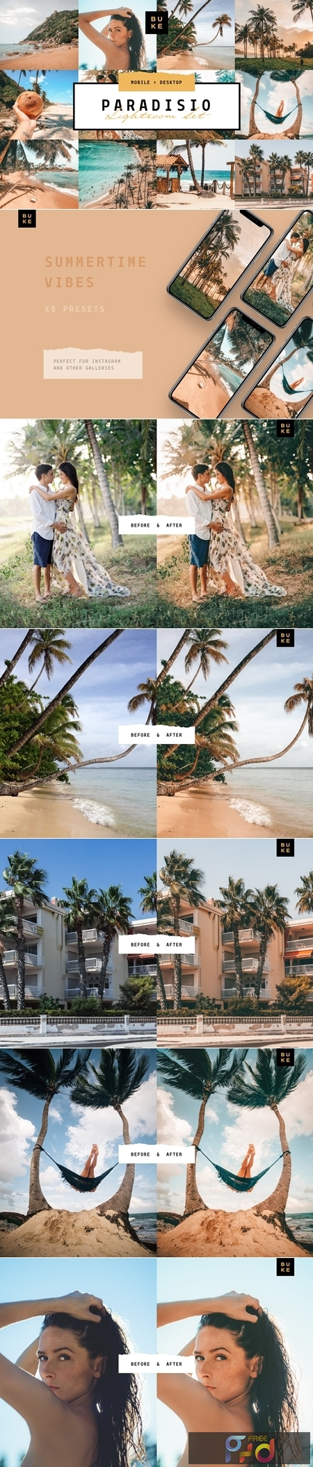Paradisio 8 Lightroom Presets Bundle 3978938 1