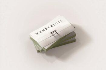 WANDERLUST a Travellers Business Card 1671911 4