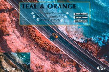 Teal & Orange Lightroom Presets 3616380 7