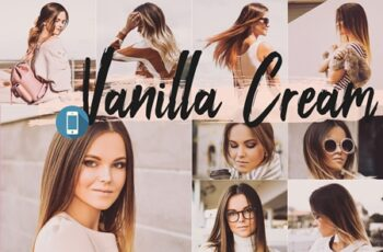 5 Vanilla Cream Desktop Lightroom Preset 1684586 3