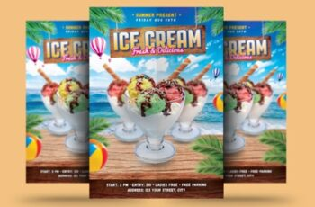 Ice Cream Flyer 1670158 3