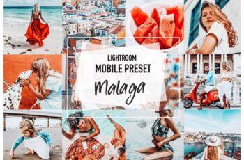 MALAGA 4 Lightroom Mobile Presets 3956928 8