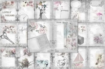 Printable Backgrounds with Free Clipart 1669139 2