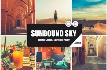 Sunbound Sky Lightroom Preset 3874202 3