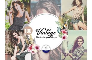 100 Vintage Photoshop Actions 297482 6