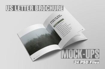 US Letter Brochure Magazine Mockups 1669091 4