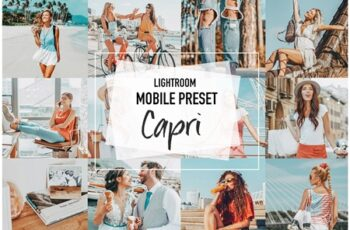 CAPRI 4 Lightroom Mobile presets 3957013 7