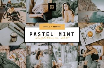 Pastel Mint 4 Lightroom Preset Pack 3957670 3