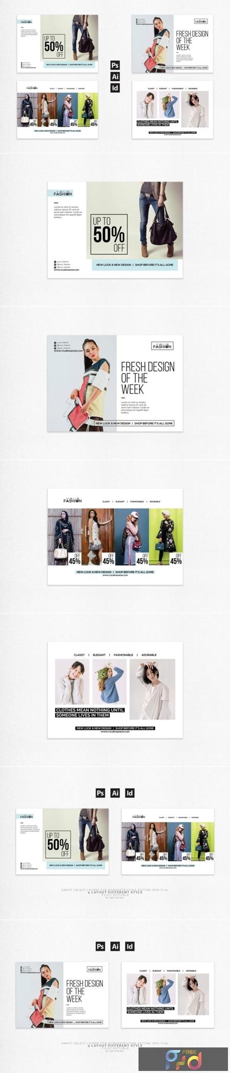 Fashion Postcard Flyer 1673877 1