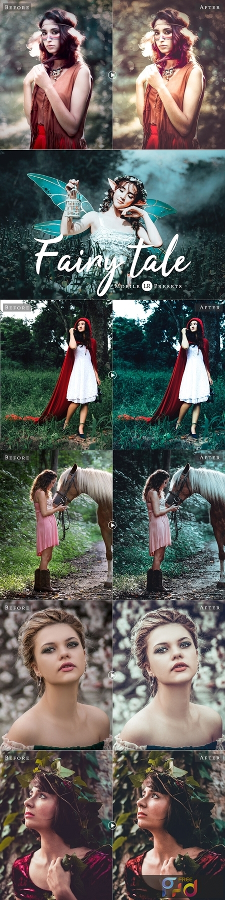 Fairytale Mobile and Desktop Lightroom Presets 3617866 1