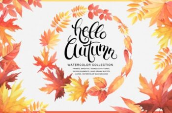Hello Autumn Watercolor Collection 1666182 7